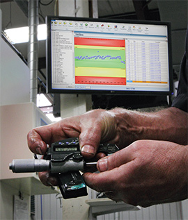 Wireless digital micrometers for quality testing
